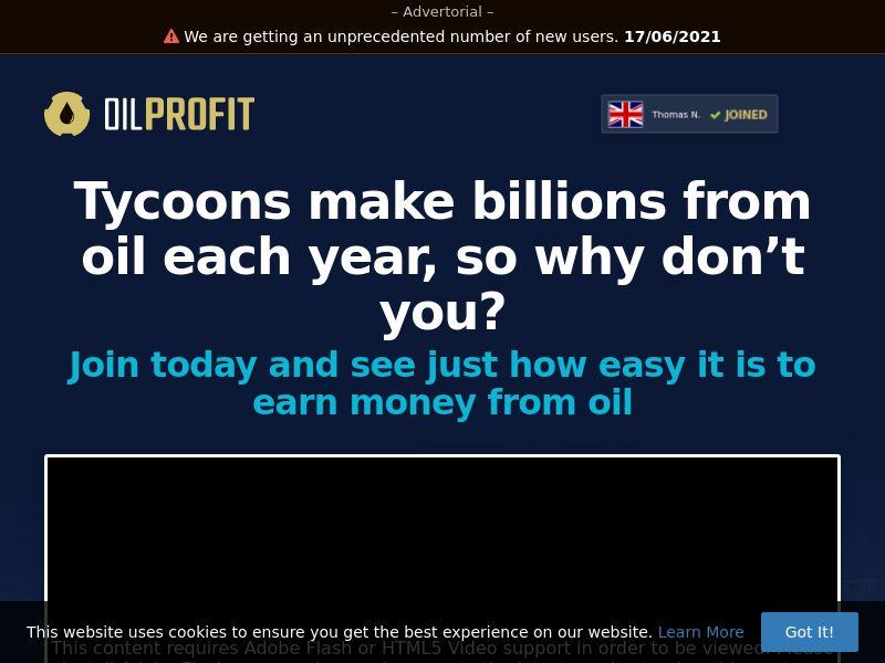 Oil Profit (SG) (CPS)