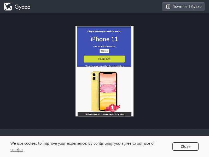 iPhoneWinners - Win iPhone 11 - INCENT - INTL