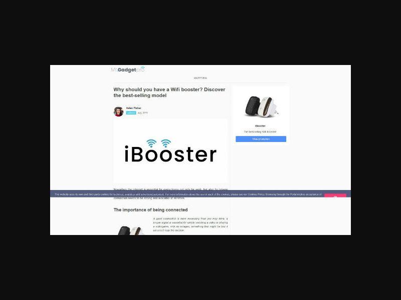 Wifi Booster - E-Com Product