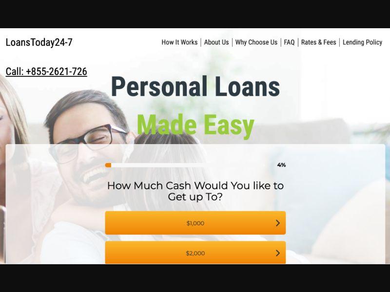 Loans Today 24-7 - CPL DOI - US - Finance - Responsive