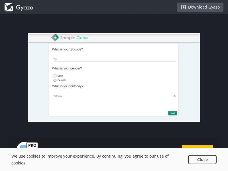 SampleCube - Fill in Our Survey (CN) (CPL) (Desktop)
