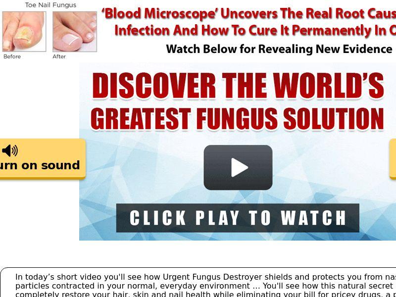 Urgent Fungus Destroyer (CPS) - US, UK, AU, NZ, CA