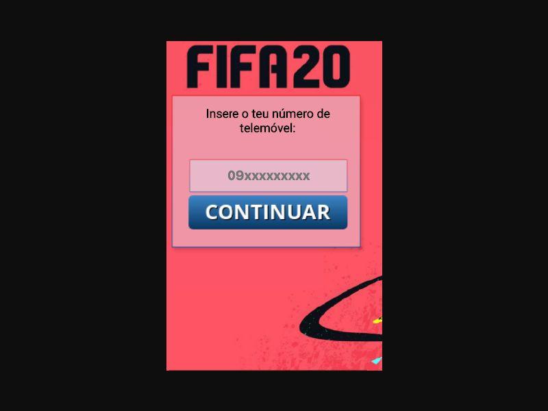 Fifa 2020 - SMS Flow - PT - Online Games - Mobile