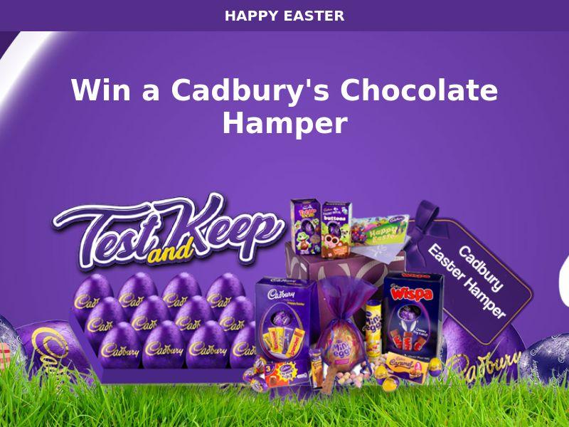 9929) [WEB+WAP] Cadbury Chocolate Hamper - NZ - CPL