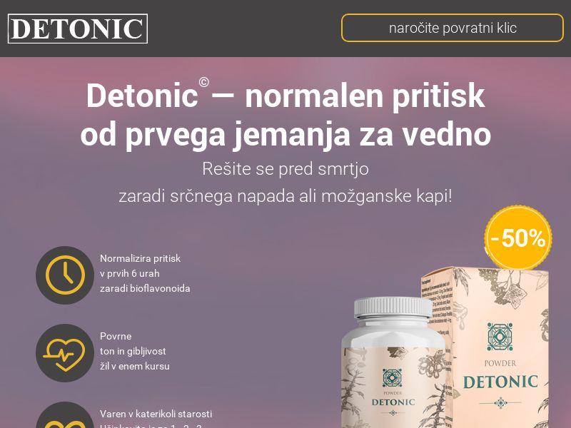 Detonic SI (hypertension)