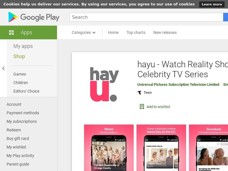 hayu -Android- PH - (CPE=subscription)