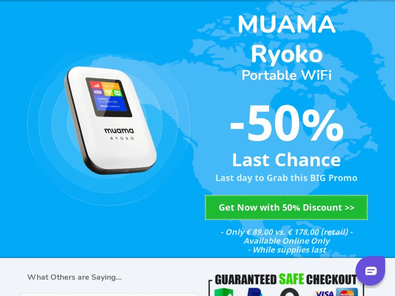 RYOKO - Portable WIFI Router - CPA - [INTERNATIONAL]
