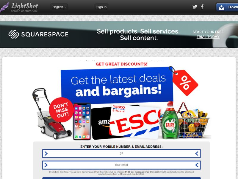 AlertsForYou - Tesco Giftcard (UK) (CPL) (Personal Approval)