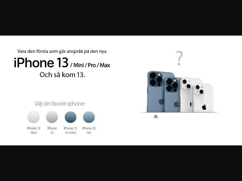 Winnenmetje - Win iPhone 13 (SE) (CPL) (Personal Approval)