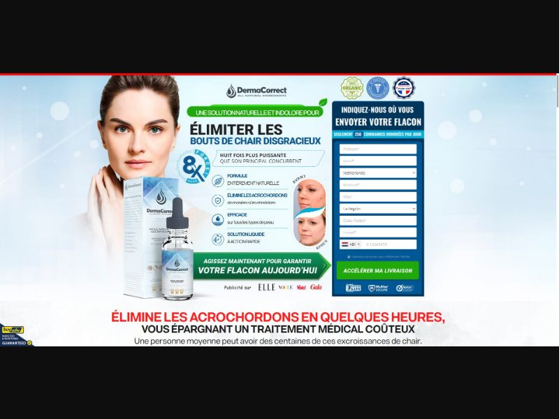 DermaCorrect Mole And Skin Tag Remover - Skin Care - SS - NO SEO - [FR]