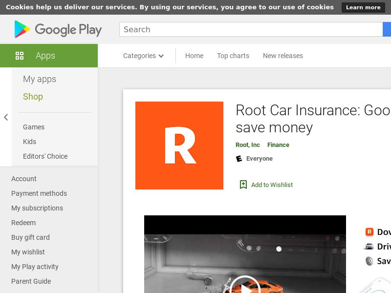 Root Car Insurance US Android (CPR)