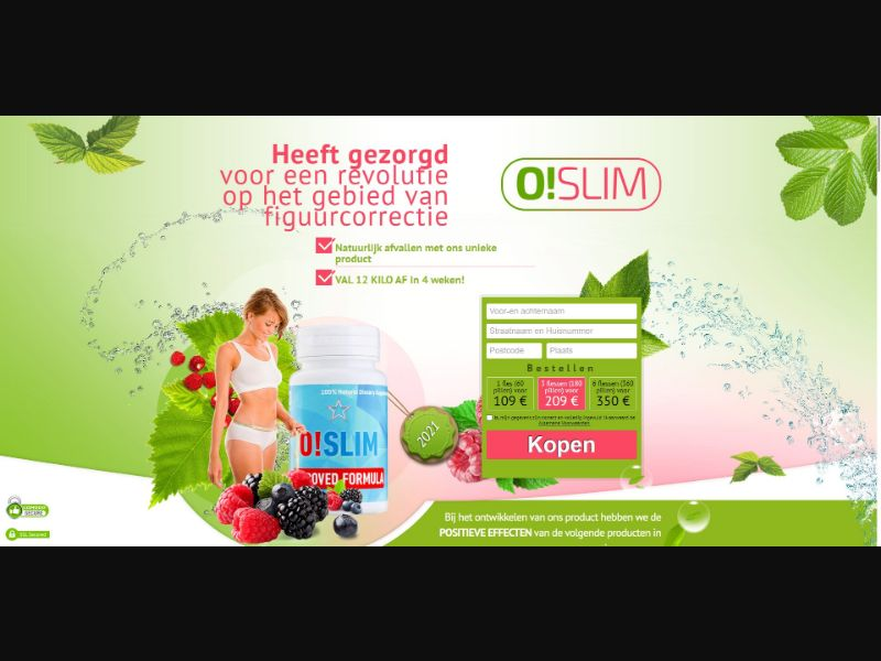 O!Slim - Diet & Weight Loss - SS - [BE]