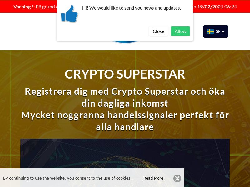 Crypto Superstar Swedish 2094