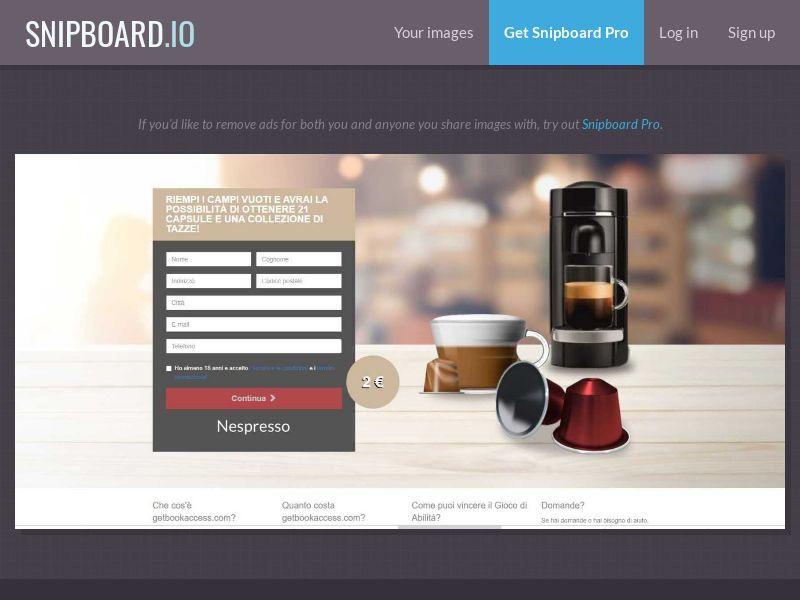 39577 - IT - BigEntry - Nespresso v1 - CC submit