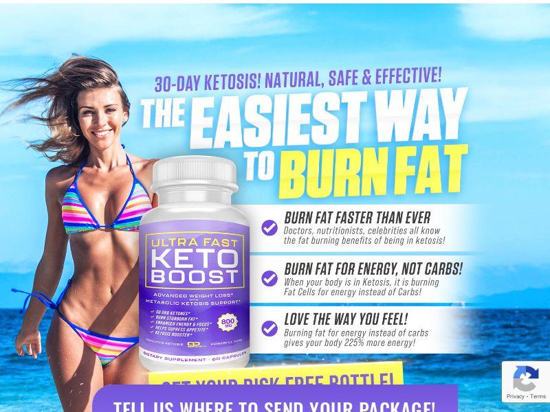 Ultra Fast Keto Boost SS - US/CA