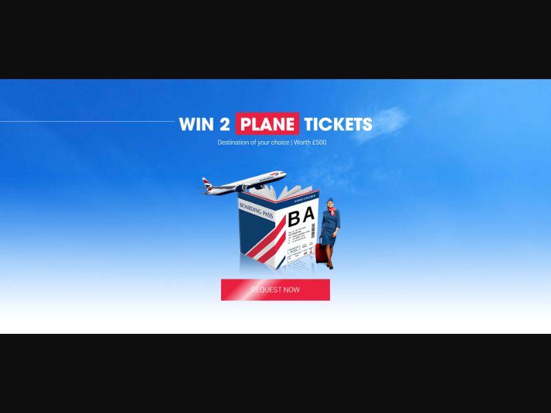 British Airways Voucher - INCENT - UK