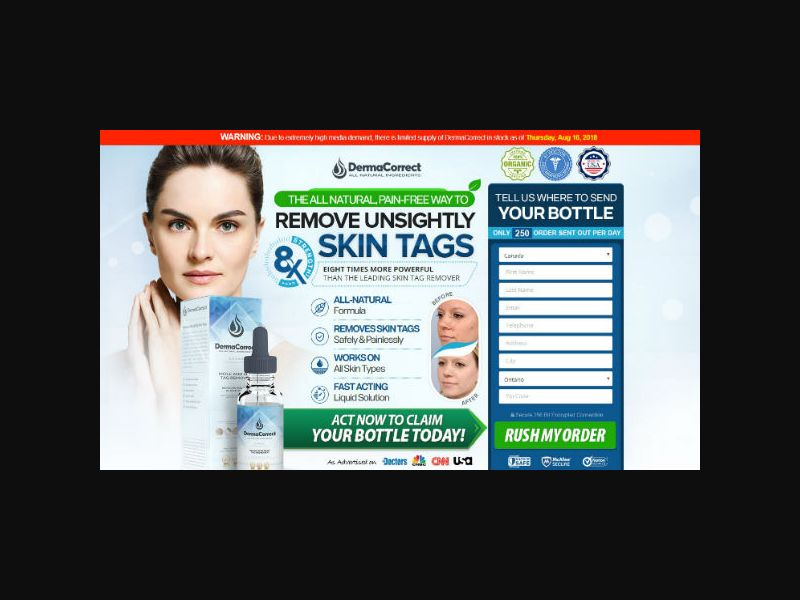 DermaCorrect - Skin Tag Remover (US, CA, IE)