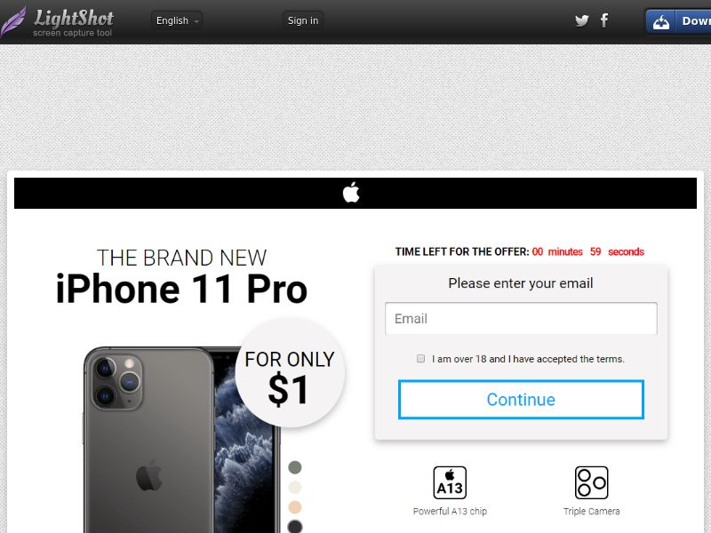 GetRealDeal iPhone 11 pro white (Sweepstake) (CC Trial) - New Zealand [NZ]