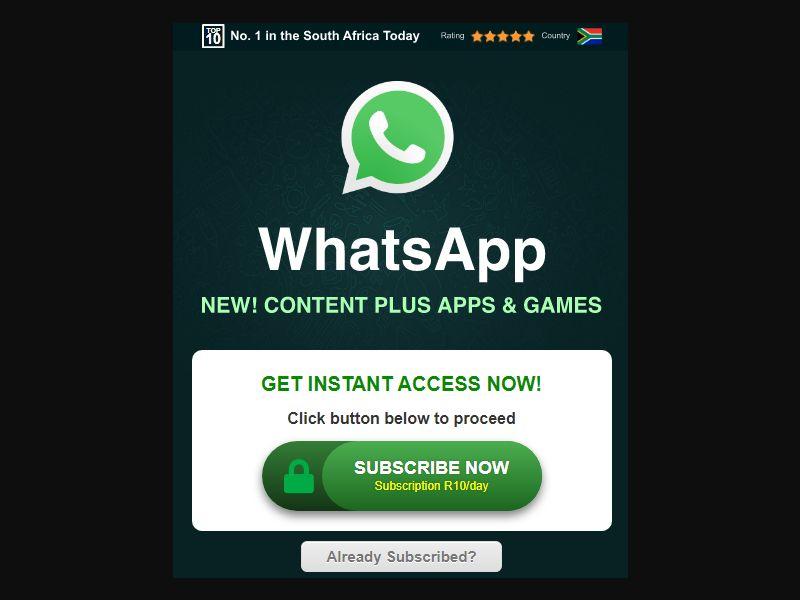 Whatsapp (ZA)
