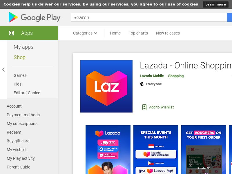 [DIRECT] Lazada - Android - TH - CPI