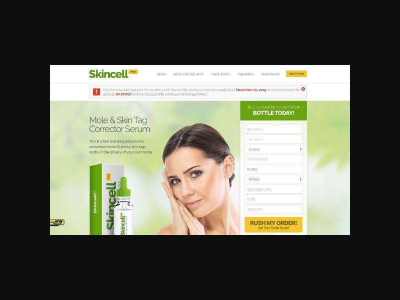 Skincell Pro - Mole and Skin Tag Corrector Serum (INTL)