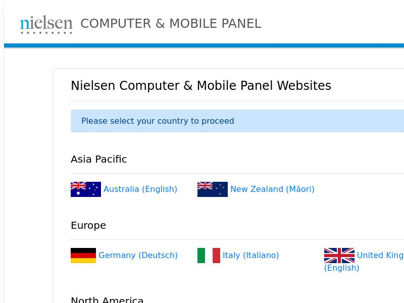 Nielsen Computer and Mobile Panel - US - Incent - CPL