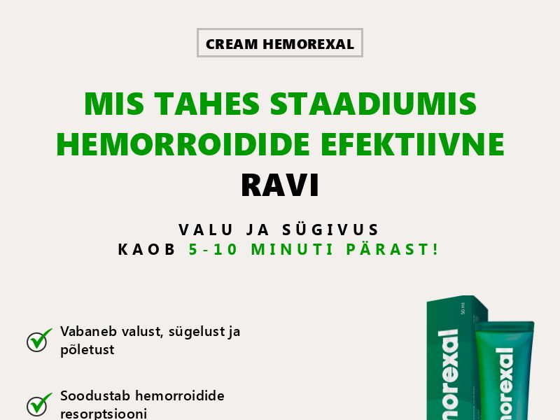 Hemorexal EE - hemorrhoids treatment