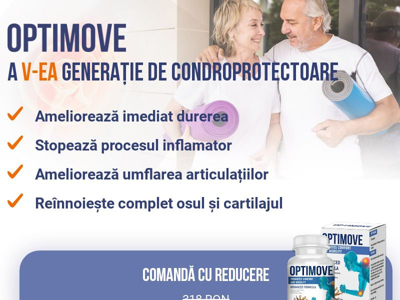 Optimove RO - arthritis product
