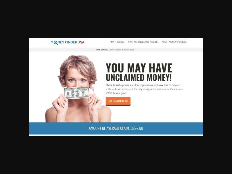 Money Finder USA (US) SOI