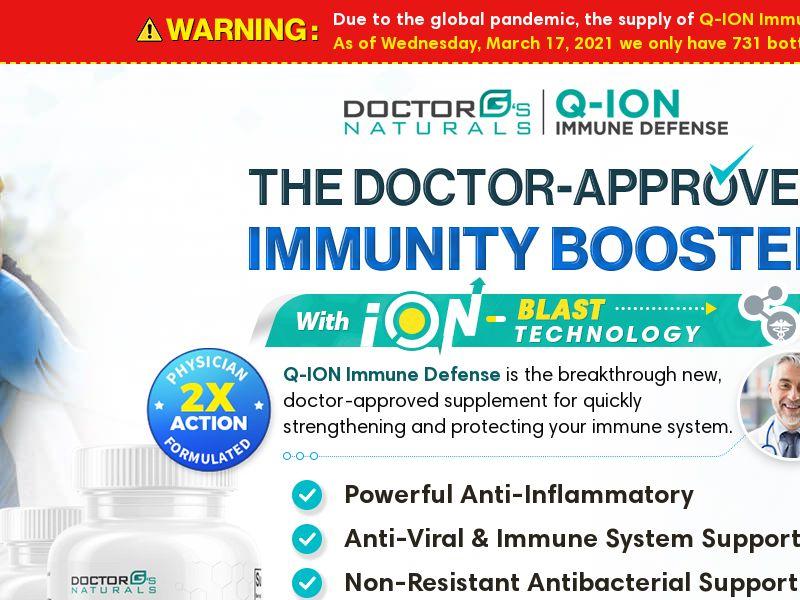 Q-ION Immune Defense [US] (Email,Native,Social,Banner,Search,SEO) - CPA