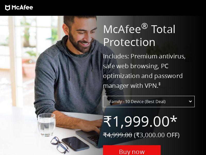McAfee.com CPS - DE, ES, UK, AU, FR, AR, BR, CL, CO, MX, PE, IT, IN, US & IE