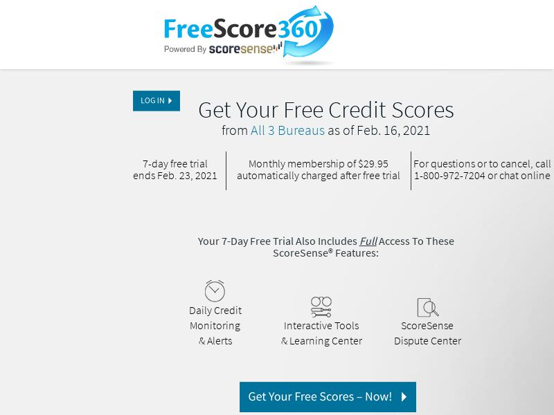 FreeScore360 - US