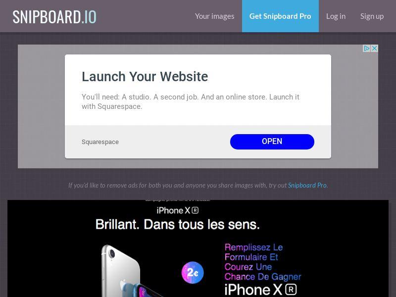 BigEntry - iPhone XR v2 FR - CC Submit