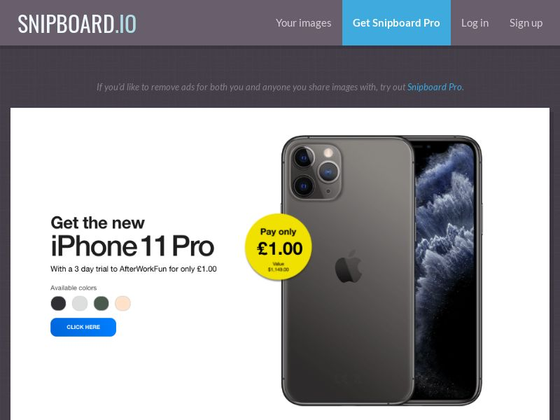 39579 - US - PrizeOffers - iPhone 11 Pro - CC submit