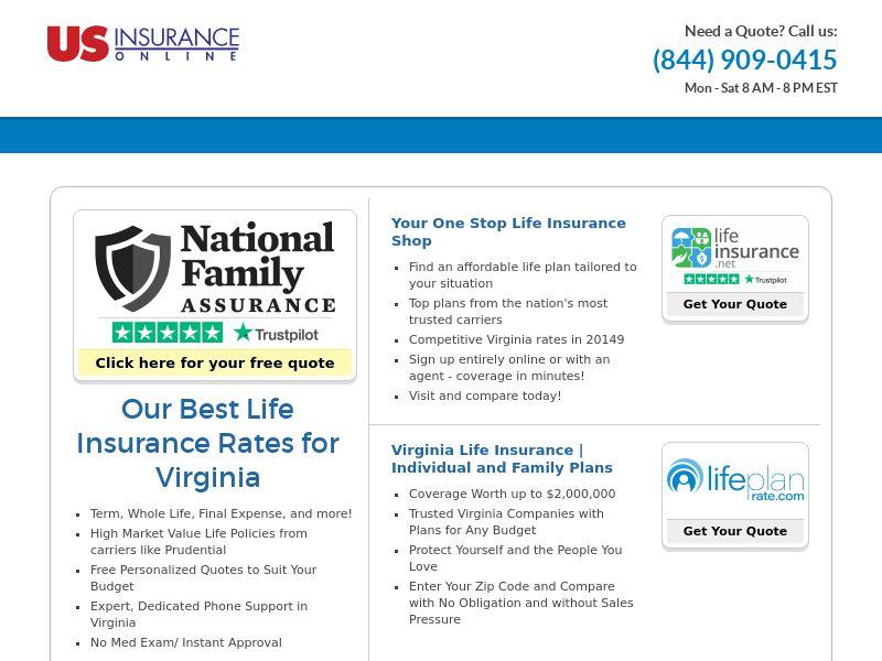 US USinsuranceonline.com- Auto Quote - CPL