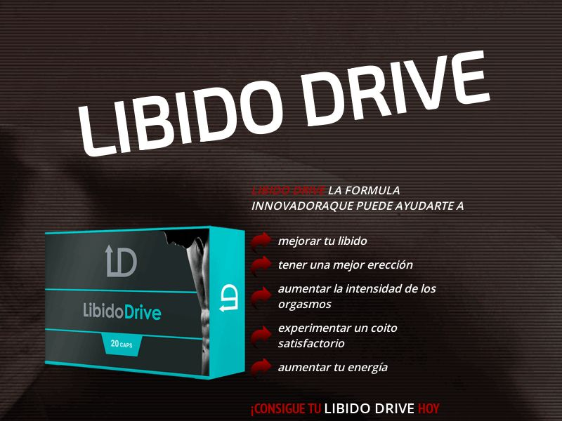 Libido Drive ES - male enhancement capsules (new)