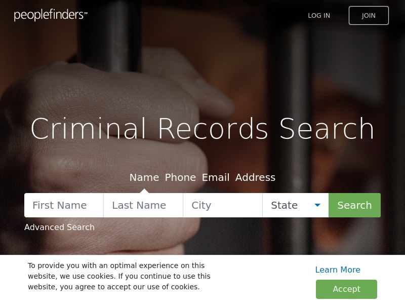 People Finders Criminal Records Search