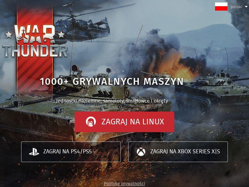 War Thunder PL (PL), [CPL], Entertainment, Games, Client games, game
