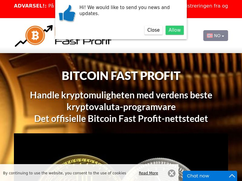 Bitcoin Fast Profits Norwegian 3929