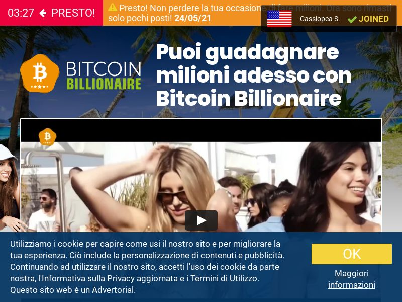 Bitcoin Billionaire CPL IT
