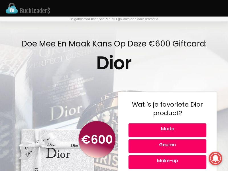 Buckleaders - Dior - NL