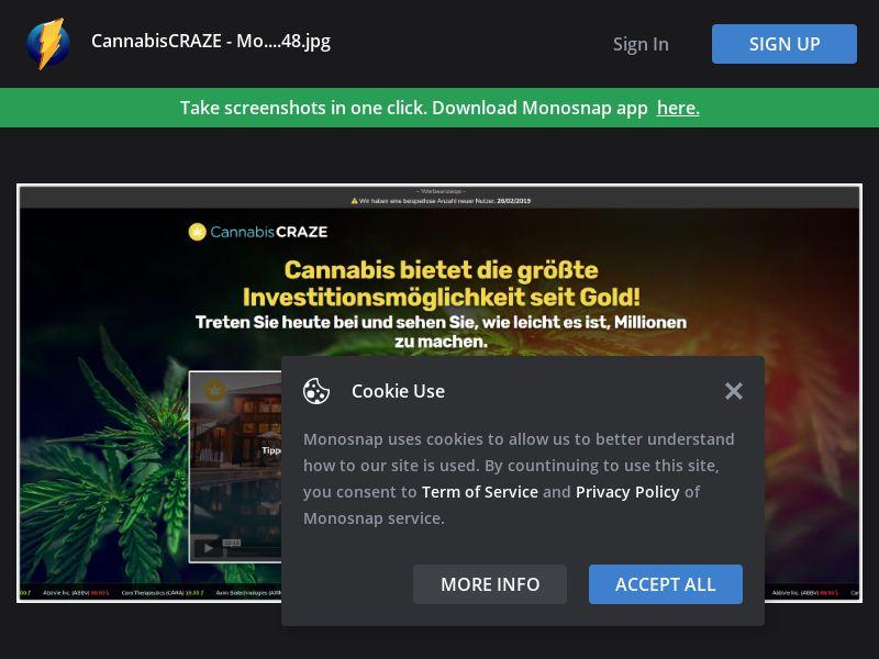 Germany (DE) - Cannabis Craze (Responsive)