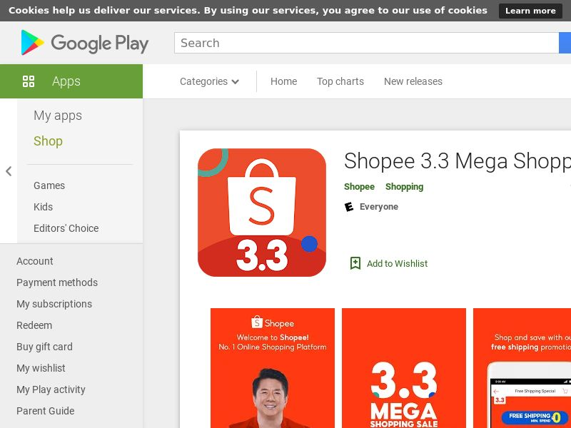 Shopee - Android (TH) (KPI) (GAID)