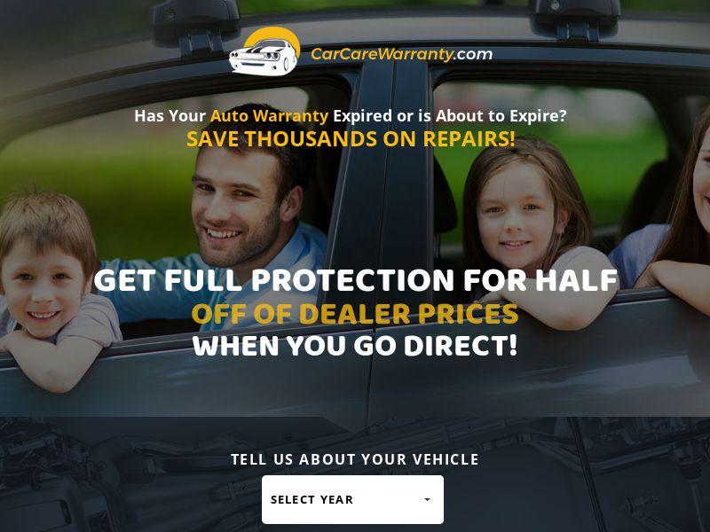US - Car Care Warranty (M - Fri)