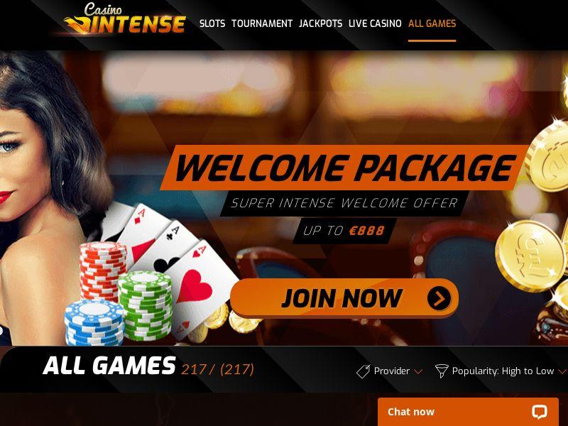 Casino Intense - FR, IT, ES, DE, UK, FI, NO, NL, AT, CH - (CPA)