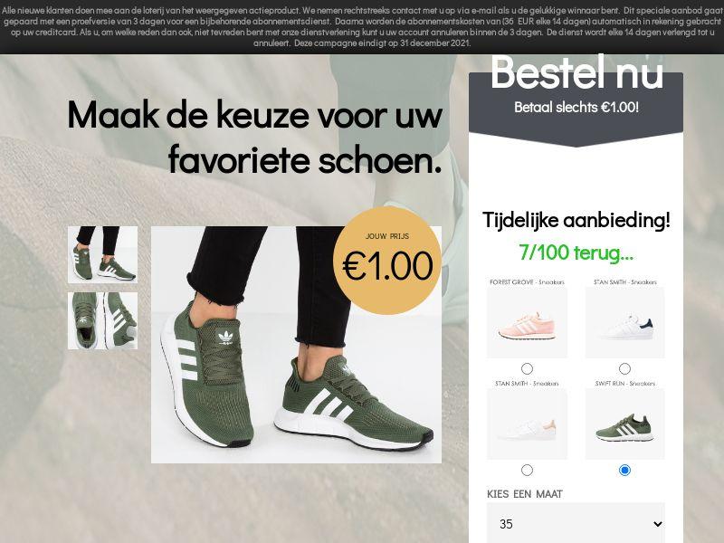 Adidas - CC - BE & NL (BE,NL), [CPA]