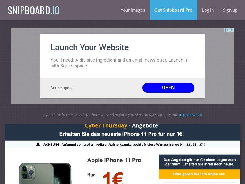 SteadyBusiness - iPhone 11 Pro LP22 DE - CC Submit