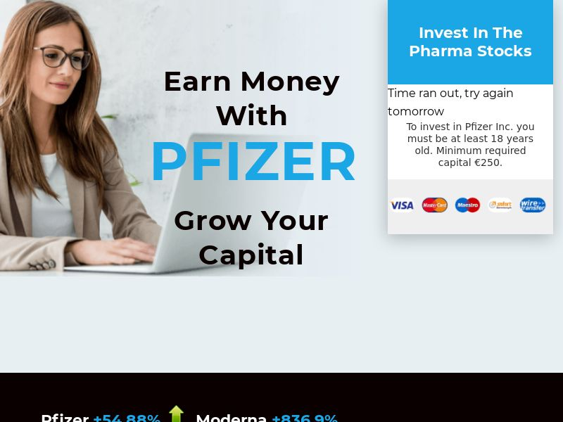 Earn Money with PFIZER CPA UK [GB]