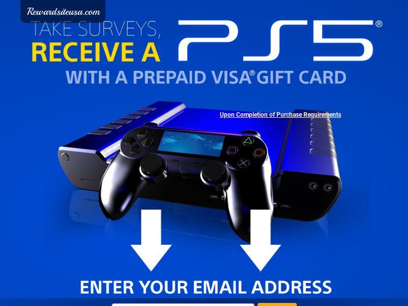 Exclusive - RewardSiteUSA - PS5