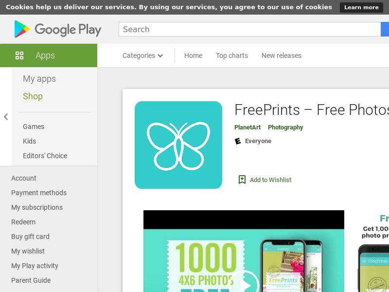 FreePrints - Android - UK - GAID